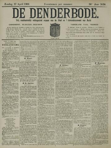 De Denderbode 1904-04-17