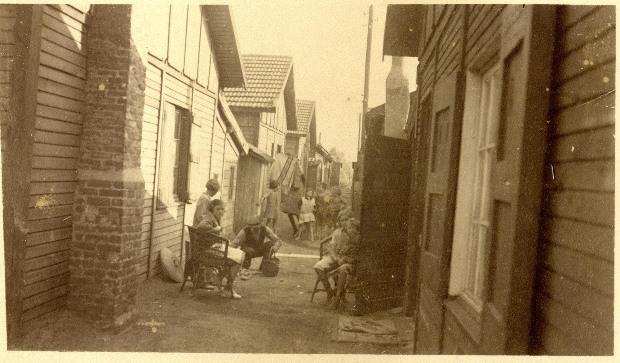 De barakken van Mijlbeke, jaren 1920-1930