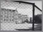 Het bouwterrein van bejaardencentrum De Kastanjehof, Kastanjeplein 10, op de pla…
