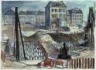 De bouwput van de Nederlandsche Bank, Frederiksplein 56, gezien in oostelijke ri…