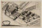 Het Binnengasthuis in vogelvlucht, ooit terrein van de kloosters van de Oude en …