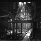 Zeedijk 2, de Sint Olofskapel, interieur na brand