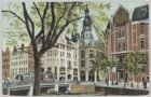 Singel bij de Raadhuisstraat, gezien naar het Hoofdpostkantoor, Nieuwezijds Voor…