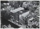 Luchtfoto van de Prinsengracht en omgeving gezien in noordoostelijke richting