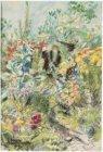 In het bijenpark aan de Amstelveenseweg. Gesigneerd Martin Monnickendam 1941 l.o