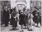 Bezoek koning Bhoemibol en koningin Sirikit van Thailand in het Rijksmuseum