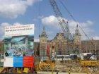 Bouwwerkzaamheden t.b.v. de aanleg van de Noord/Zuidlijn in het Open Havenfront