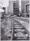 De aanleg van een trambaan op de Stadhouderskade tussen Leidsebosje en Hobbemast…