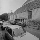 Amstelveld 6 - 10, zijgevel van de Amstelkerk aan de zijde van de Kerkstraat
