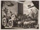 """Maria de Medicis als """"Berecynthia"""", op een wagen, door Lodewijk XIII bestuurd, w…"""