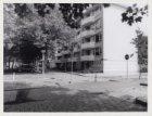 Aalbersestraat 250 t/m 260 hoek trottoir Albardagracht