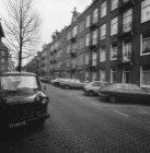 Retiefstraat 3 - 37 (ged.), voorgevels. Links een deel van de zijgevel Retiefstr…