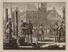 Executie van Wederdopers op de Dam