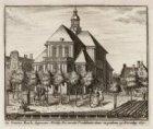 De Ooster Kerk, begonnen anno 1669. De eerste Predikatie daar in gedaan op Kersd…