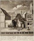 Afbeelding van een Terpentijn-Olie-Brandery en zijn Pakhuijs met terpentijn bele…