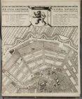 Blad 2 (midden boven) van de 2e uitgave van de kaart van stadsarchitect Daniel S…