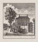 Gesigt van de Burgwal siende na de Weesper straat en de Plantasie