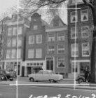 Wittenburgergracht 53 (ged.) - 61 (ged.), gevels. Op nummer 57 zit leesbibliothe…