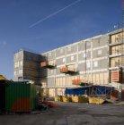 Bouw van het Muziekmakerscentrum MuzyQ aan Atlantisplein 1