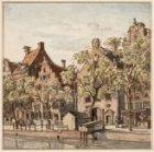 Oudezijds Voorburgwal 282-272 met op nummer 274, tussen Sint Pietershalsteeg en …