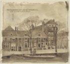 """""""Prinsegracht. bij de Looyersgr. Het Oude Doolhof"""". Prinsengracht 334-340 (v.r.n…"""