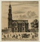 De Wester kerck begonnen Ao.1620, de eerste predicatie daer in gedaen op Pinkste…