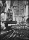 Interieur van de Nieuwe Kerk, Dam 12, gezien naar het koor