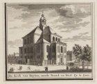 De Kerk van Buyten, aande Noord en West Zy te Zien