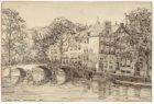 Amstel 282-284 (v.r.n.l.) op de hoek met Prinsengracht 1129-1131 ( aflopend naar…