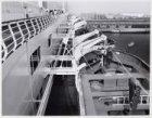 Norwegian Caribbean Cruise Line, gezicht op het sloependek van het cruiseschip s…