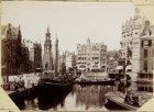 De Binnen Amstel, ziende op de Munttoren en het Muntplein
