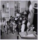 Verkleedpartij op een Montessorischool