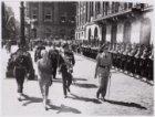 Bezoek koning Boudewijn van Belgie