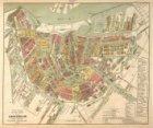 Nieuwe Volledige Platte Grond van Amsterdam benevens de ontworpen Grachten, Stra…