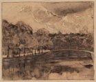 De Keizersgracht gezien in westelijke richting naar de brug voor de Reguliersgra…