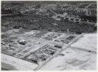 Luchtfoto van het industrieterrein Sloterdijk in aanleg gezien in noordoostelijk…