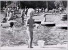 Kinderbadje in het Vondelpark