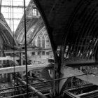 Zeedijk 2, Sint Olofskapel, interieur en kapconstructie na de brand van 1 juni 1…