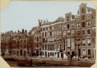 De Keizersgracht tusschen de Reguliersgracht en de Vijzelstraat (oostzijde)
