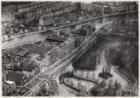 Luchtfoto van de Amstelveenseweg (midden) en omgeving gezien in zuidwestelijke r…