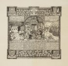 Herinneringsprent aan het vijf en een halve eeuwfeest van het Mirakel van Amster…