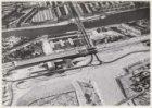 Luchtfoto van de Amstel en omgeving gezien in westelijke richting