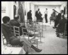 Prinsengracht 458. Modehuis/jazzclub The Trend. Links ontwerpster Josje Leeger e…