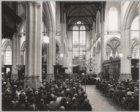 Bijeenkomst in de Nieuwe Kerk, Dam 12, ter gelegenheid van de beëindiging van de…