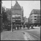 Koningsplein gezien naar de ingang van de Leidsestraat