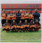 Burgemeester Stramanweg 64; groepsfoto met een team van SV Bijlmer
