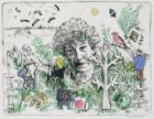 Portret van Eva Bendien (1921-2000), oprichtster en eigenares van Galerie Espace…