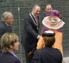 Officiële opening gebouw De Bazel door H.M. koningin Beatrix