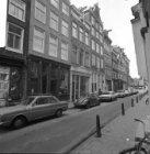 Reestraat 13 (ged.) - 27 met aansluitend rechts de zijgevel van Prinsengracht 34…