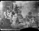 Schilderij van een picknick